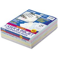 Array Colored Bond Paper, 24lb, 8-1/2 x 11, Assorted Marble Pastels, 500 Shts/Rm from Pacon