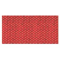 "Fadeless Designs Bulletin Board Paper, Brick, 48"" x 50 ft. from Pacon"