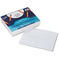 Multi-Program Handwriting Paper, 16 lbs., 8 x 10-1/2, White, 500 Sheets/Pack from Pacon