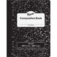 Pacon Unruled Compositon Book from Pacon