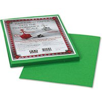Riverside Construction Paper, 76 lbs., 9 x 12, Green, 50 Sheets/Pack from Pacon