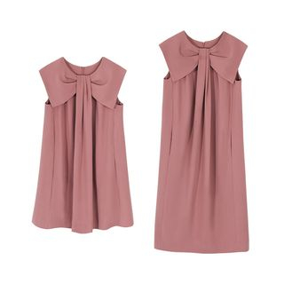 Sleeveless Tie-Neck Twisted Dress from Paila