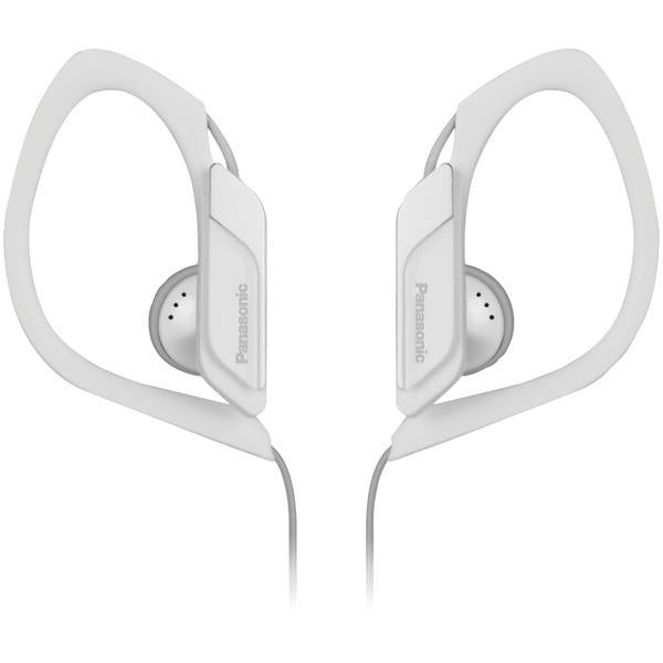 Panasonic RP-HS34-W Sweat-Resistant Sports Earbuds (White) from Panasonic