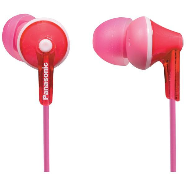 Panasonic RP-TCM125-P TCM125 Earbuds with Remote & Microphone (Pink) from Panasonic
