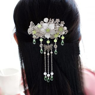 Flower Dangling Hair Pin/ Hair Clip from Paparazzi