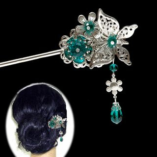 Flower Dangling Hair Pin from Paparazzi