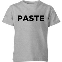 Paste Kids' T-Shirt - Grey - 9-10 Years - Grey from Parents and Kids Duo