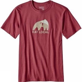 Mens Eat Local Upstream Cotton T-Shirt from Patagonia