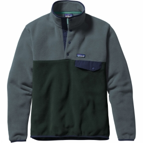 Mens Lightweight Synchilla Snap-T Pullover from Patagonia