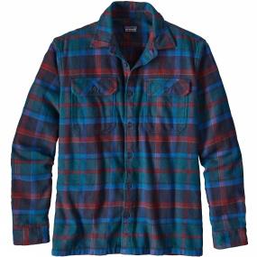 Mens Long-Sleeved Fjord Flannel Shirt from Patagonia