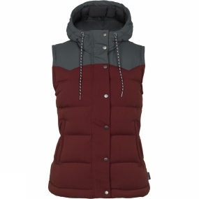Womens Bivy Hooded Down Vest from Patagonia