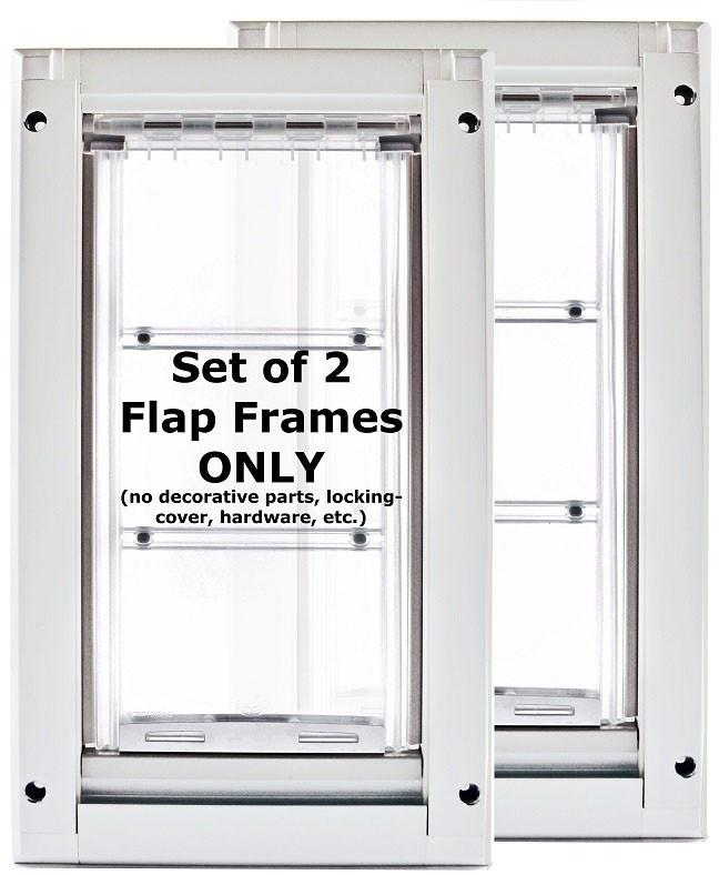 Patio Pacific 03ppk08 Endura Flap 2eMedium Kennel Dog Door - white frame, single flap, case of 2 from Patio Pacific