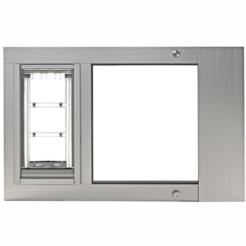 Patio Pacific 07ppc06-ds Thermo Sash 3e-Small with Endura Flap - satin, 28- 31 adjustment range from Patio Pacific