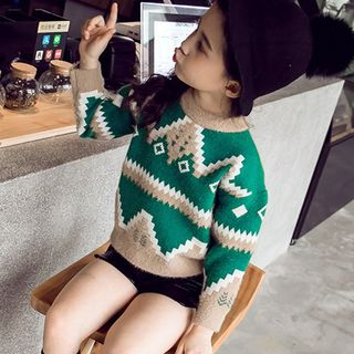 Kids Patterned Sweater from Pegasus