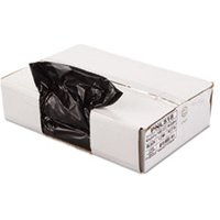 Linear Low Density Can Liner, 1.2mil, 43 x 47, Black, 10 Bags/Roll, 10 Rolls/CT from Penny Lane