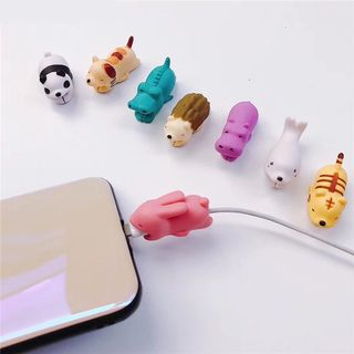 Animal Cable Protector (Various Designs) from Phone in the Shell