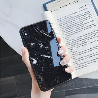 Marble Printed Phone Case - iPhone 6S / 6S Plus / 7 / 7 Plus / 8 / 8 Plus / X / XS / XR / XS MAX from Phone in the Shell