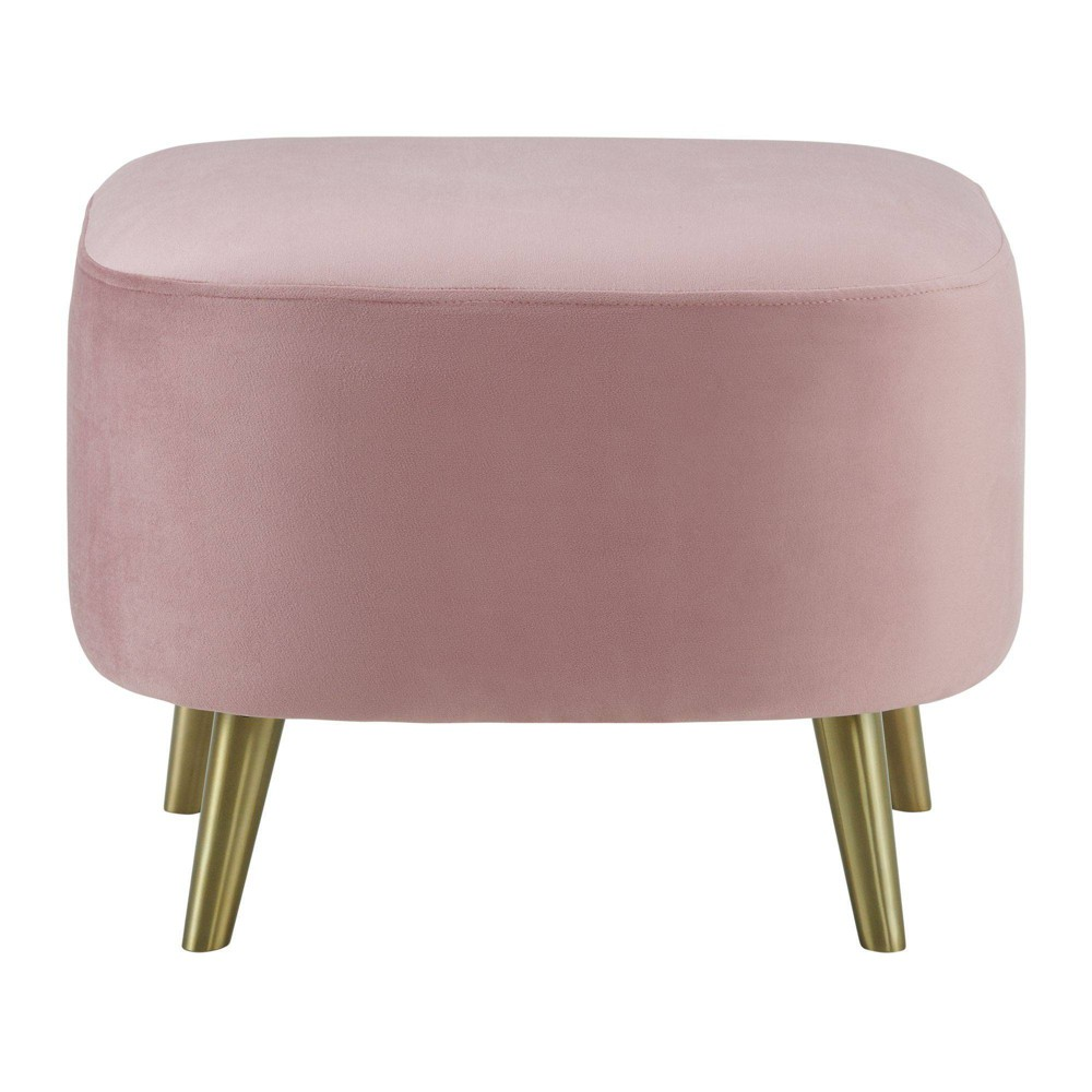 Taryn Ottoman Blush Pink - Picket House Furnishings from Picket House Furnishings