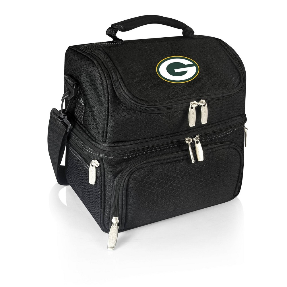 Green Bay Packers - Pranzo Lunch Tote by Picnic Time (Black) from Picnic Time