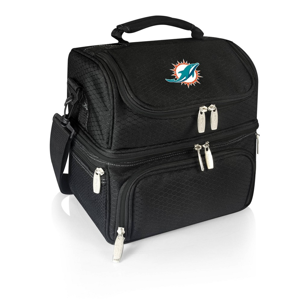Miami Dolphins - Pranzo Lunch Tote by Picnic Time (Black) from Picnic Time