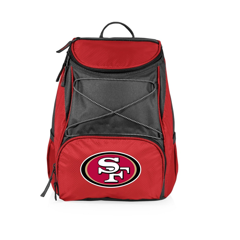 San Francisco 49ers PTX Backpack Cooler by Picnic Time - Red from Picnic Time