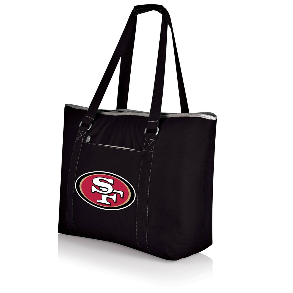 San Francisco 49ers - Tahoe Cooler Tote by Picnic Time (Black) from Picnic Time
