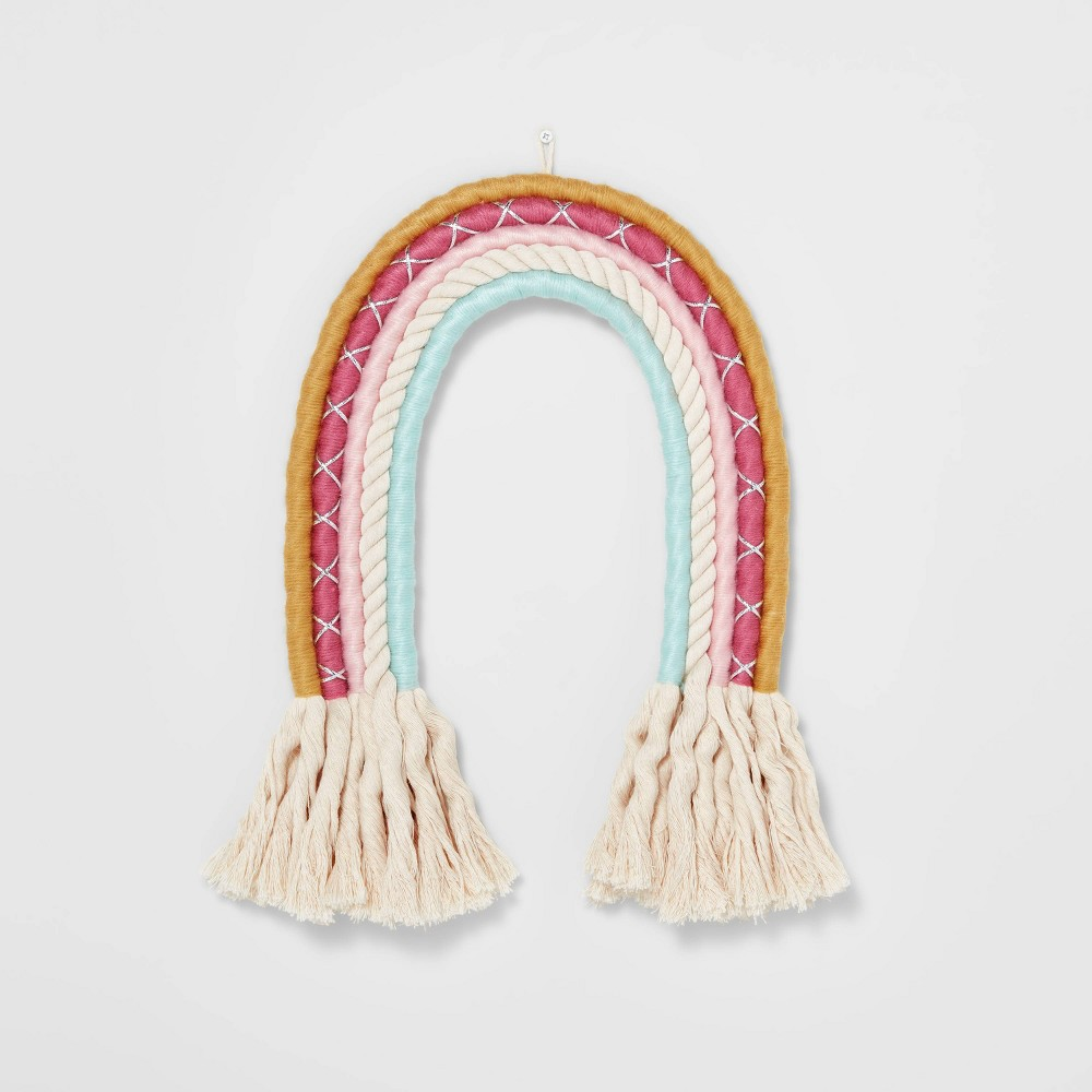 Rainbow Rope Hanging Wall Decor - Pillowfort from Pillowfort