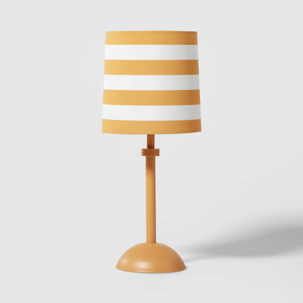 Stripe Accent Lamp (Includes LED Light Bulb) Yellow - Pillowfort from Pillowfort