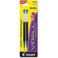 Refill for V Ball Retractable Rolling Ball Pen, Fine, Blue Ink from Pilot
