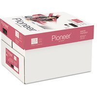 Multipurpose Paper, 99 Brightness, 22 lbs., 8-1/2 x 11, Bright White, 5000/Ctn from Pioneer