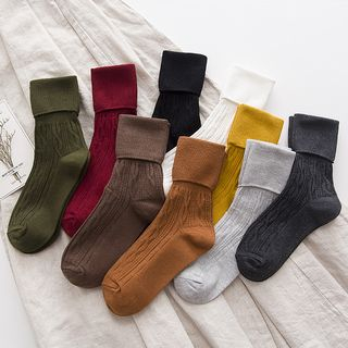 Plain Socks from Pompabee