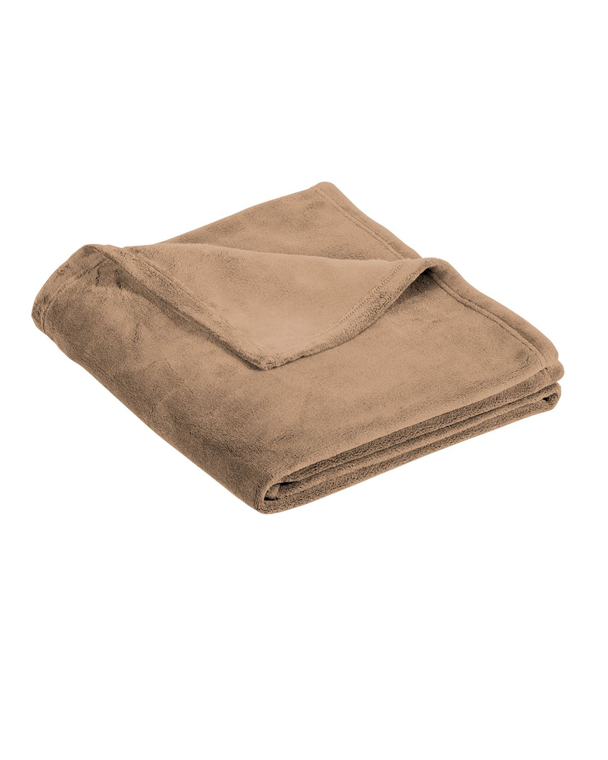 Port Authority BP31 Ultra Plush Blanket - Fawn - One Size from Port Authority