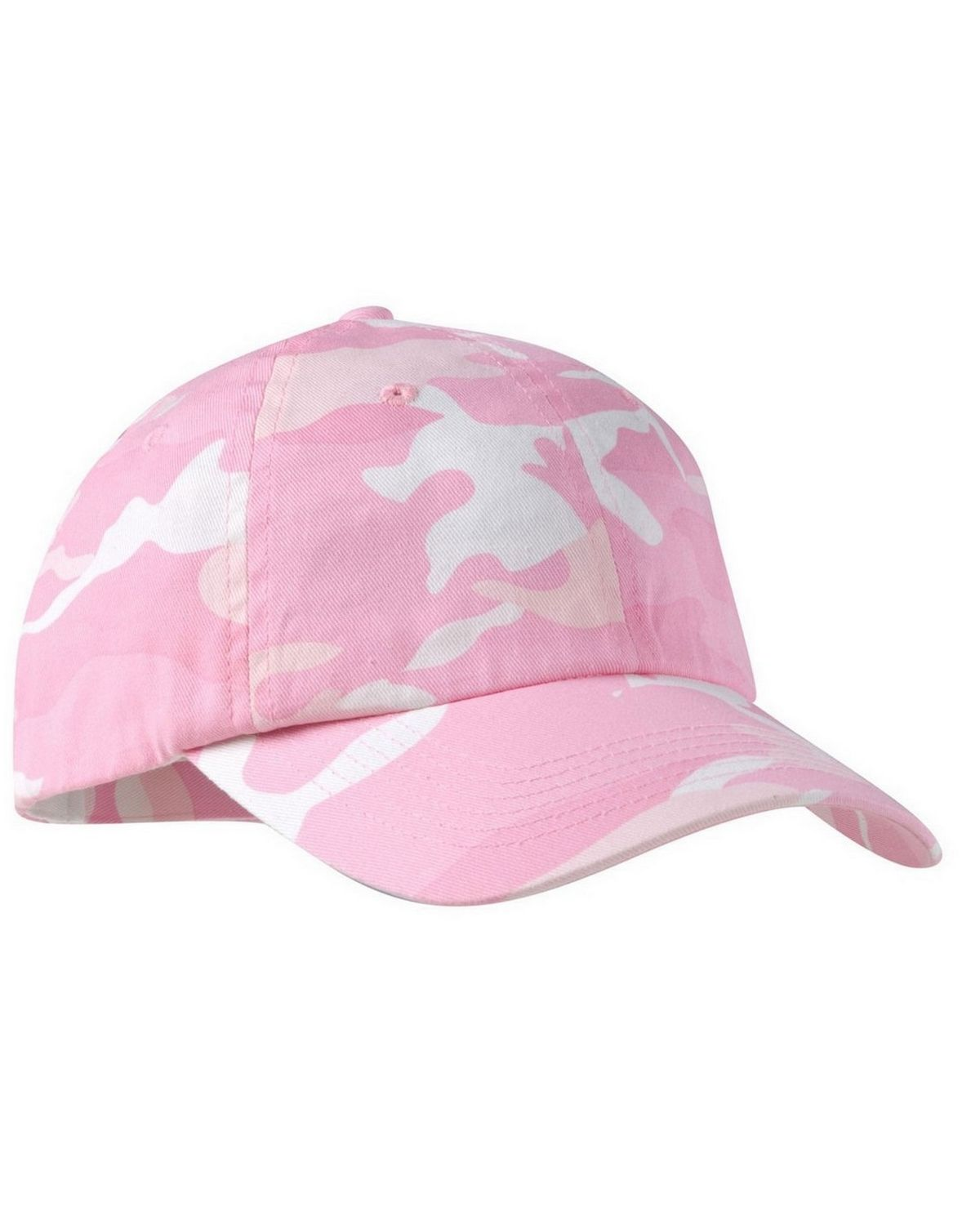 Port Authority C851 Camouflage Cap - Pink Camo - One Size from Port Authority