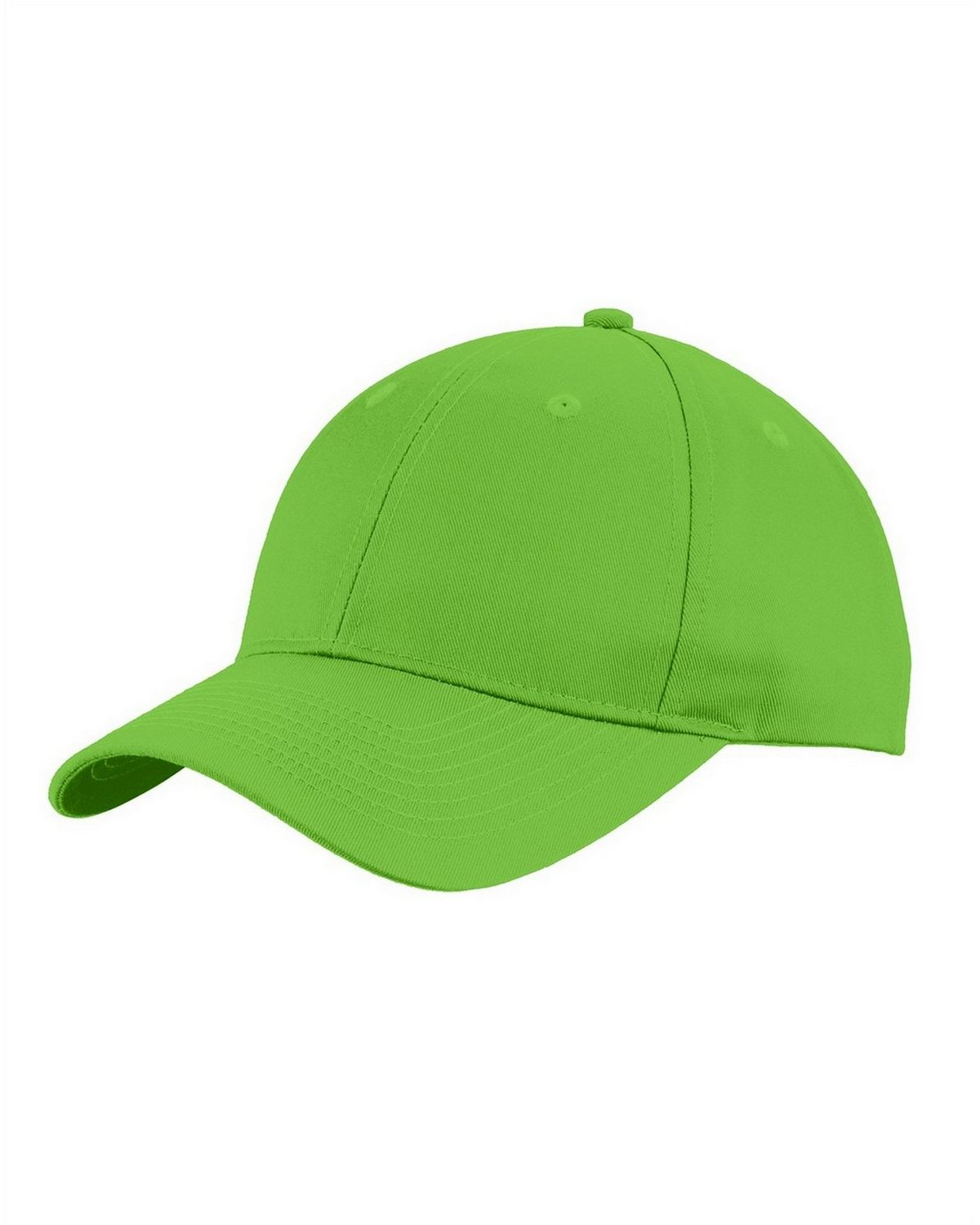 Port Authority C913 Uniforming Twill Unisex Cap - Lime - One Size from Port Authority