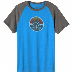 Mens Tent Pitch Club Raglan Tee from PrAna