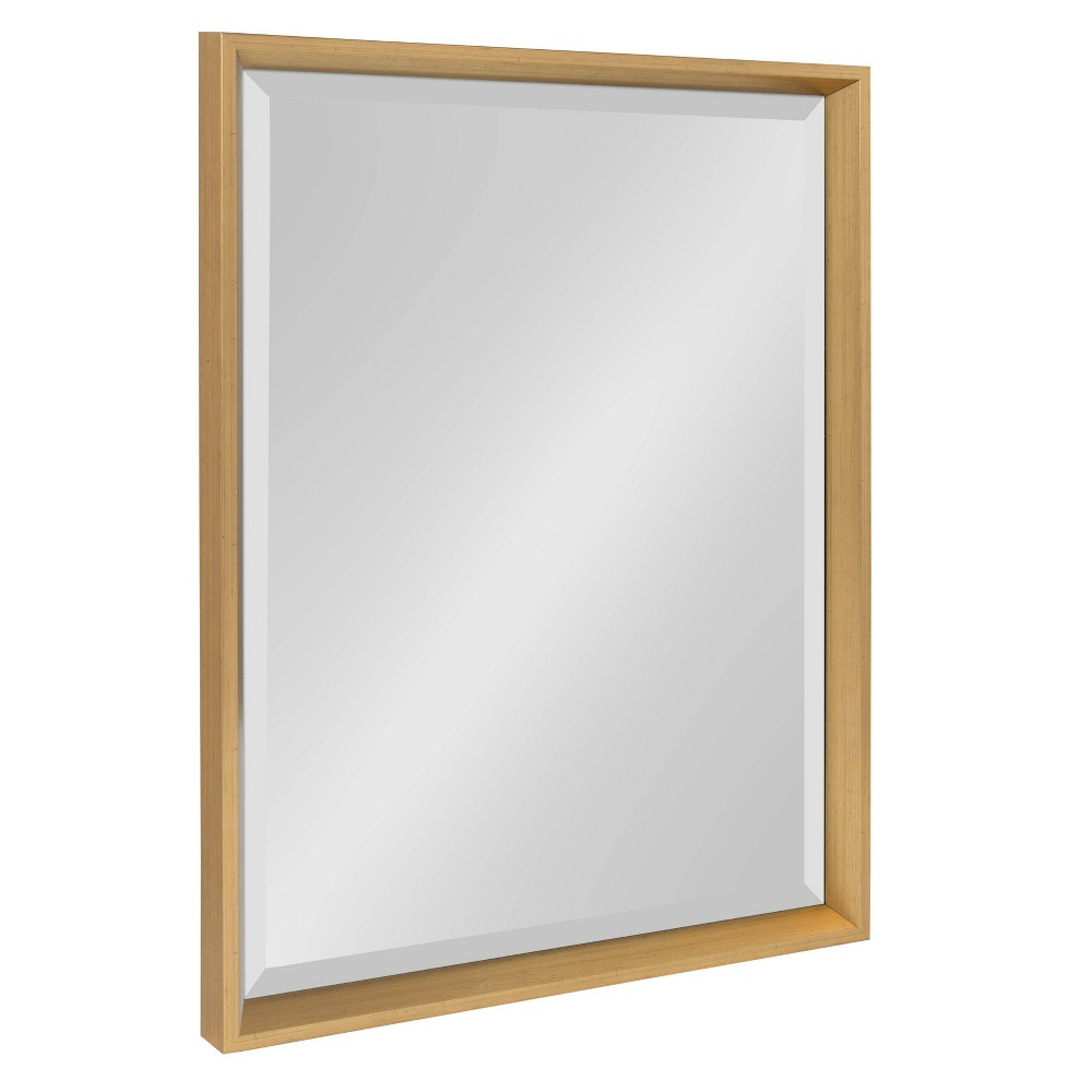 "20"" x 26"" Calter Framed Wall Mirror Gold - Kate and Laurel from Kate & Laurel All Things Decor"