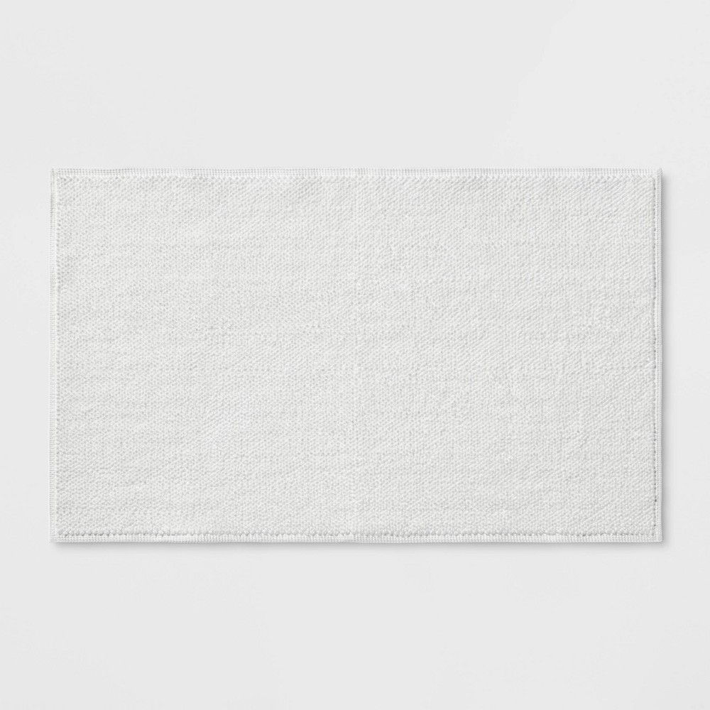 "21""x34"" Bath Mat White - Threshold Signature from Threshold Signature"