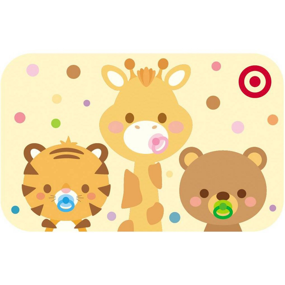 3 Cute Animals Target GiftCard $100 from Target