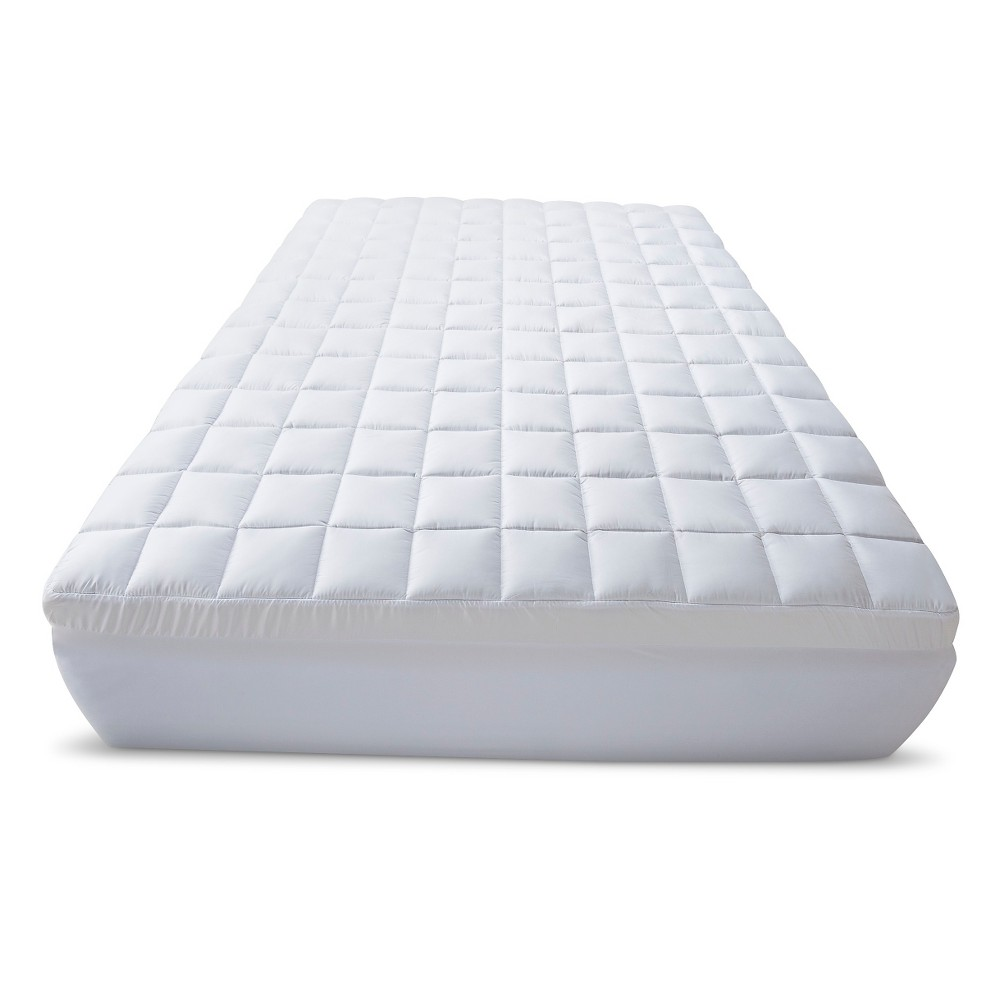 "3.5"" Memory Foam/Fiber Topper Queen White - Beautyrest from Beautyrest"