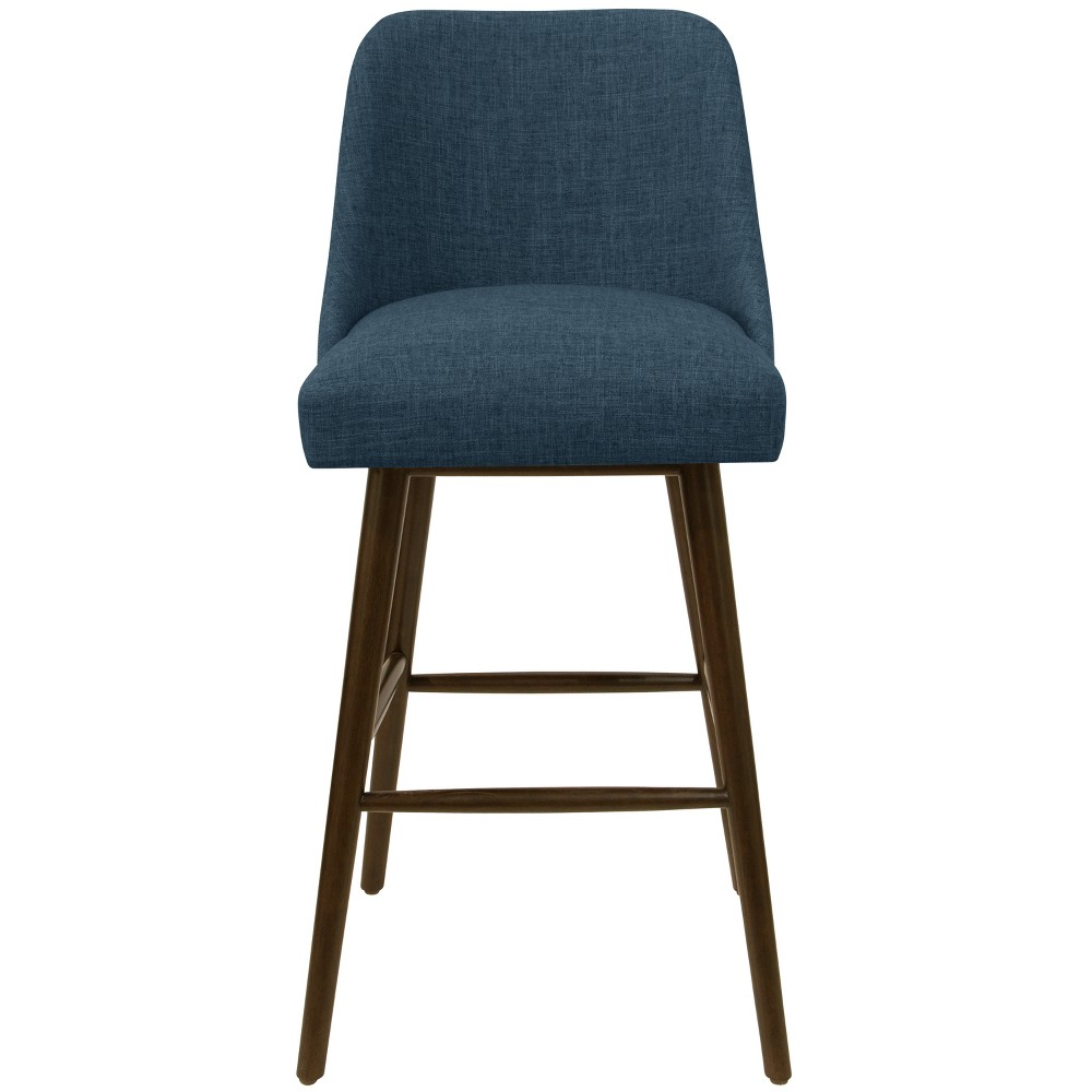 "30"" Geller Modern Barstool Dark Navy Linen - Project 62 from Project 62"