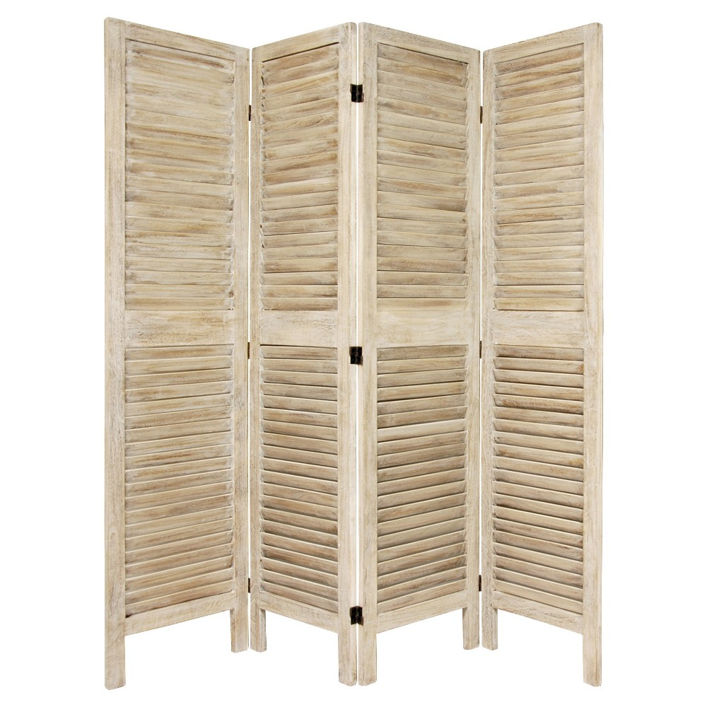 5 1/2 ft. Tall Classic Venetian Room Divider (4 Panel) from Oriental Furniture