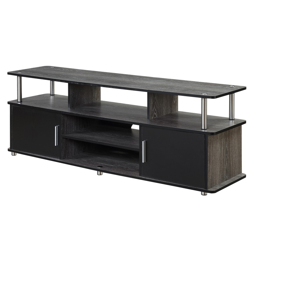 "60"" Monterey TV Stand Weathered Gray/Black - Breighton Home from Breighton Home"