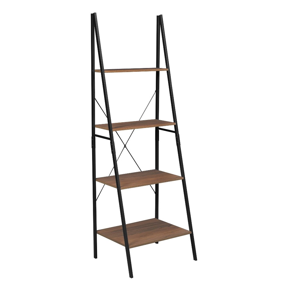"72"" Nomad Ladder Bookcase Urban Walnut - Niche from Regency"