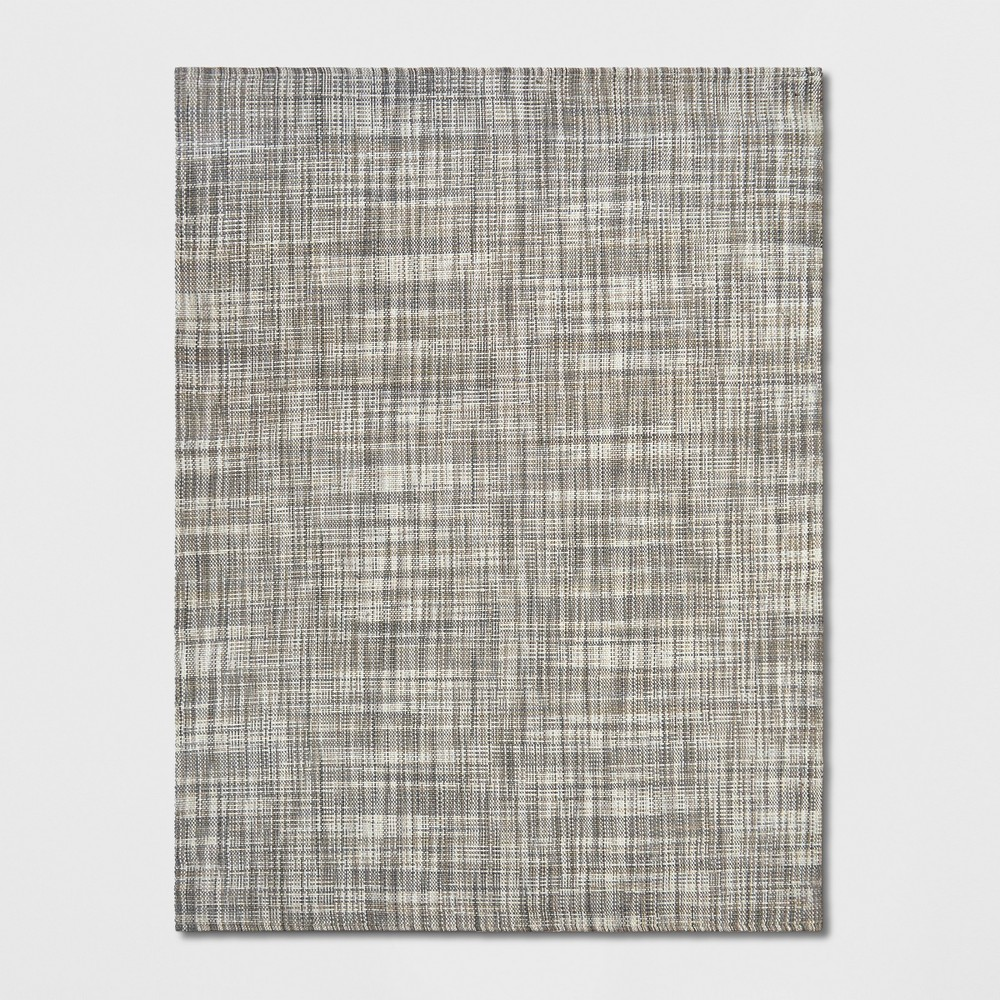 9'X12' Basketweave Tie Dye Design Area Rug Gray - Project 62 from Project 62