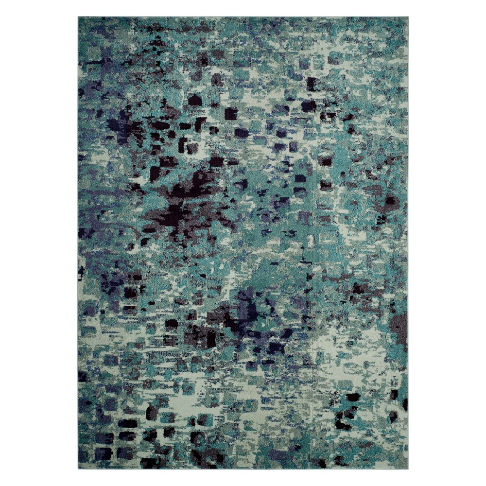 9'X12' Shapes Area Rug Light Blue - Safavieh from Safavieh