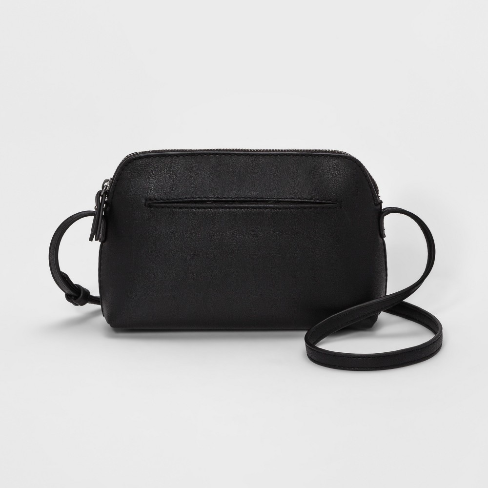 Zip Closure Crossbody Bag - Universal Thread Black from Universal Thread