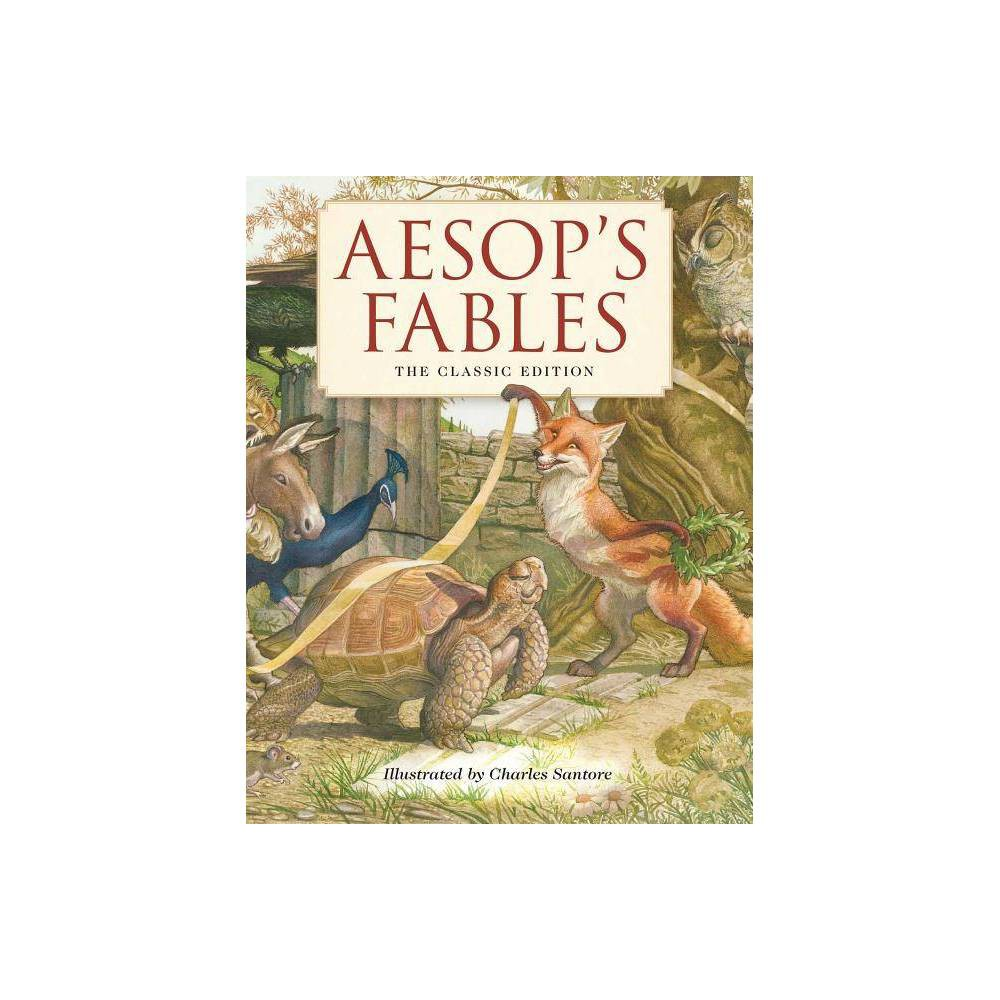 Aesop's Fables - (Classic Edition) (Hardcover) from Gold Medal