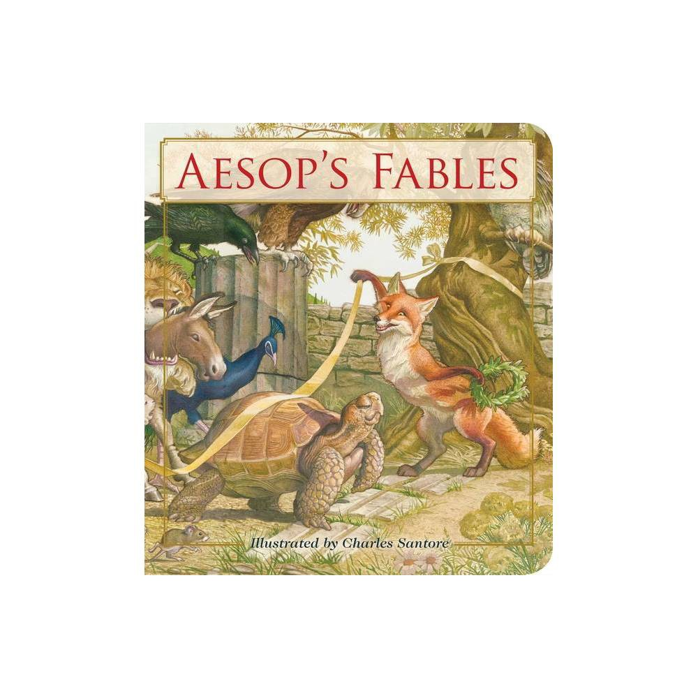 Aesop's Fables Oversized Padded Board Book - (Classic Edition) from Gold Medal