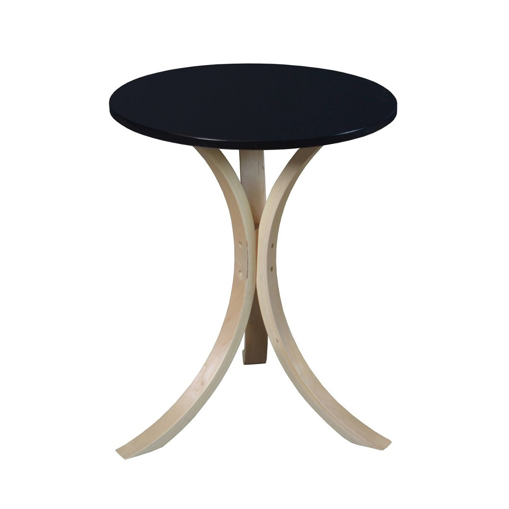 Akita Bentwood Side Table Natural/Black - Niche from Regency