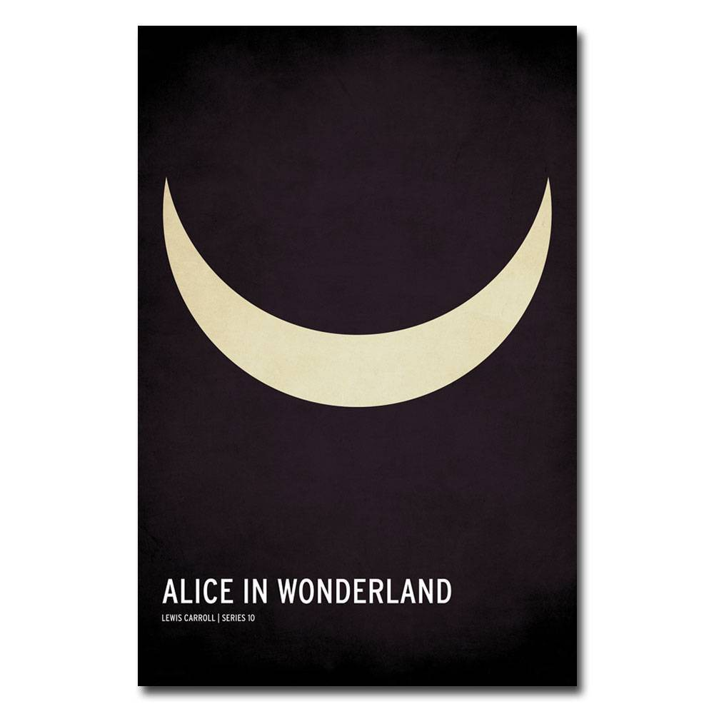"16"" x 24"" Alice in Wonderland by Christian Jackson - Trademark Fine Art from Trademark Global"